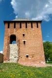 Pogorelaya (Alekseevskaya) tower. Kolomna, Kremlin Stock Photos