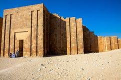 Pogrzebowy kompleks Djoser (Zoser) obraz royalty free