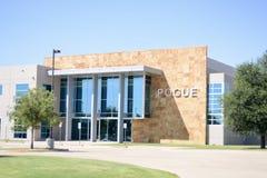 Pogue Construction Company, Lewisville,得克萨斯 免版税库存照片