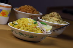 Poha Stock Photo