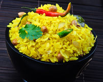 Poha Stock Photography