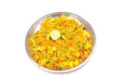 Poha dish Stock Photo