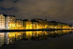 Pohjoisranta w Helsinki zdjęcia royalty free