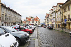 Pohorelec area in Prague. Stock Photography