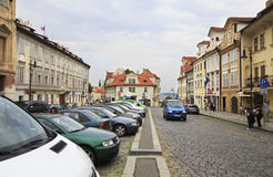 Pohorelec area in Prague. Stock Photos