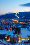 Pohorje And Maribor In Winter, Slovenia Royalty Free Stock Photography