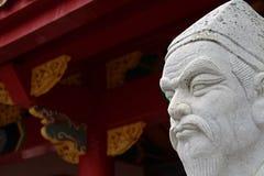 Pohoto das 72 estátuas dos seguidores foto de stock