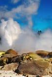 pohutu neuf la zélande de geyser photographie stock libre de droits