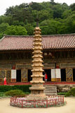 Pohyon Buddhist temple, North-Korea Stock Images