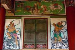 Pohyon Buddhist temple, North-Korea stock image