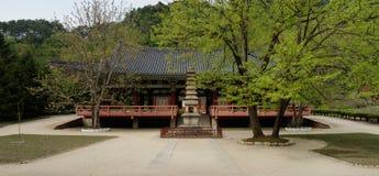 Pohyonsa Temple, DPRK (North Korea). Pohyonsa Buddhist Temple (1024 AD), DPRK (North Korea Royalty Free Stock Image