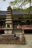 Pohyonsa Temple, DPRK (North Korea). Pohyonsa Buddhist Temple (1024 AD), DPRK (North Korea Stock Photos