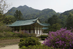 Pohyonsa Temple, DPRK (North Korea) Stock Photo