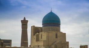 Poi Kalon аnsamble, Ancien Бухара (Узбекистан) Стоковое Изображение
