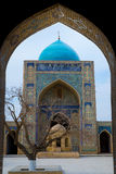 Poi Kalon Mosque Complex in Bukhara Royalty Free Stock Image