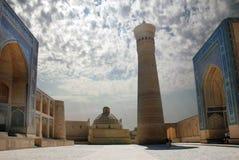 Poi-Kalyan complejo en Bukhara Imagen de archivo libre de regalías