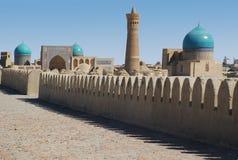 Poi-Kalyan complejo en Bukhara Fotos de archivo