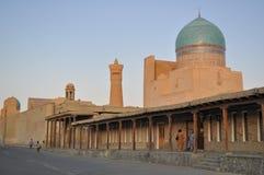 POI Kalyan Mosque est situé dans la partie historique de Boukhara photographie stock
