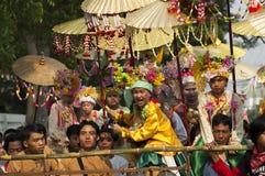 Poi Sang Long - Buddhist novice ordination Royalty Free Stock Photography