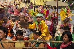 Poi Sang Long - Buddhist novice ordination royalty free stock image