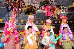 Poi Sang Long ordination 2012. CHIANGMAI THAILAND-APRIL 5: Poi Sang Long ordination.Traditional annual ceremony of Wat Pa Pao Shan. on April 5,2012 in Chiangmai Stock Image