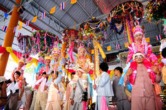 Poi Sang Long ordination 2012. Stock Image
