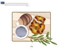 Poi or Traditional Solomonian Soup or Solomonian Porridge Royalty Free Stock Photography
