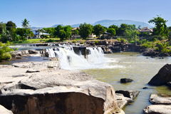 Poi-vattenfall Royaltyfri Bild
