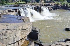 Poi-vattenfall Arkivfoton