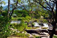 Poi-vattenfall Arkivfoto