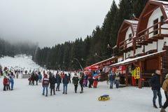 Poiana Brasov ski resort stock photo