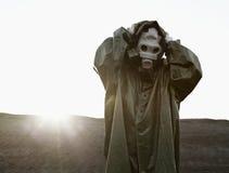 Poiché la perdita di strato di ozono il sole è pericolosa Immagine Stock