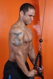 poids de formation de gymnastique photographie stock libre de droits