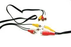 Poids du commerce de câble Photos stock