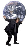Poids du monde Image libre de droits