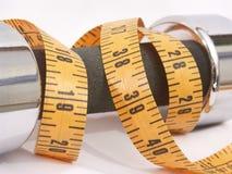 Poids et mesure Image stock