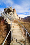 Poienari fortress of Dracula Royalty Free Stock Photos