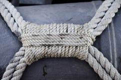 Poignée décorative de corde Photographie stock