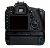 Poignée de batterie d'appareil-photo Photos stock
