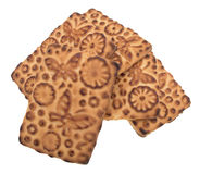 Poignée de biscuits Photos stock