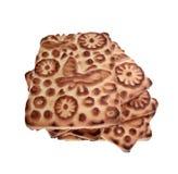 Poignée de biscuits Image stock