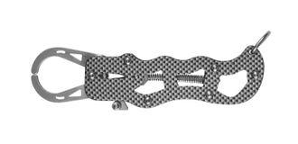 Poignée de lèvre Pince de pêche Photo stock