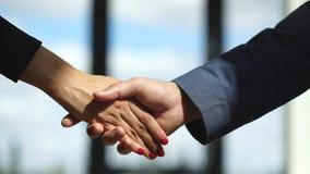Poignée de main de Businessmans Poignée de main réussie d'hommes d'affaires après bonne affaire Photos stock