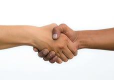Poignée de main de l'amitié Image libre de droits
