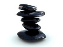 Poignée de pierres Photographie stock libre de droits