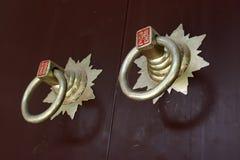 Poignée de porte Image stock