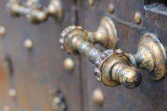 Poignée de porte rustique Image libre de droits
