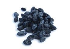 Poignée de raisins secs Image libre de droits