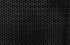 Poignée propre et brillante de Chrome de nid d'abeilles Image stock