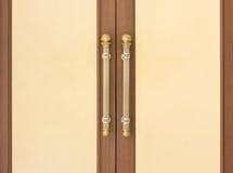 Poignées de porte en acier Image libre de droits